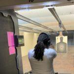 Indoor range practice..